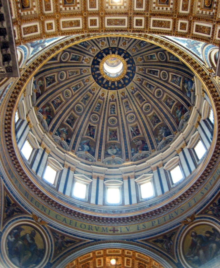 Standing beneath St. Peter's dome in Rome is one of Europe's great spiritual experiences.